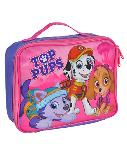 Paw Patrol Soft Lunch Box (Top Pups Purple) (Box Tops For School compare prices)