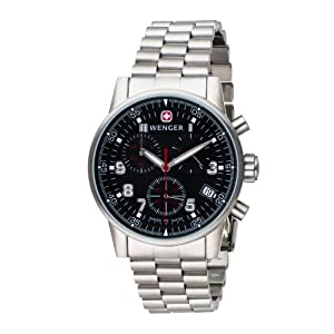 Amazon Com Wenger Men S 70896 Commando Chrono Swiss Watch