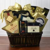 Champagne Taste Gourmet Cheese and Cracker Gift Basket