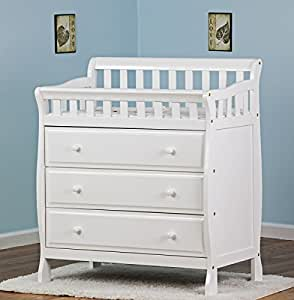 Dream On Me Marcus Changing Table, White, Small