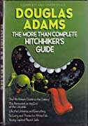 The More Than Complete Hitchhikers Guide by Douglas Adams cover image
