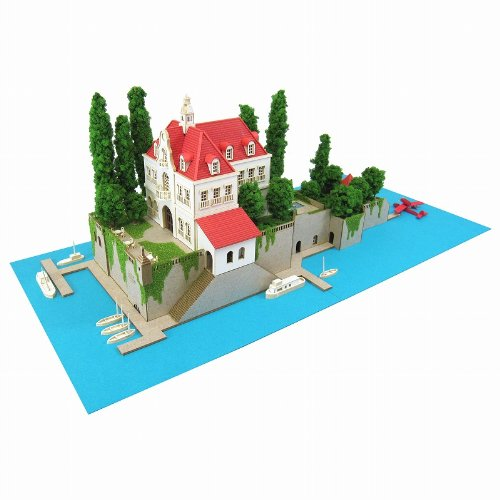 Hotel Adriano pig 1/300 Studio Ghibli Series Red MK07-15 (Paper Craft)