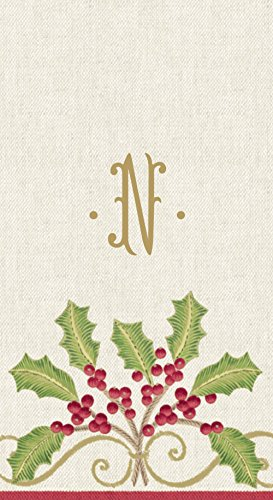 entertaining-with-caspari-christmas-embroidery-paper-linen-guest-towel-monogrammed-n-box-of-24