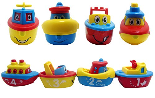 Bath Toys For Boys : Bees me bath toys for boys and girls magnet boats