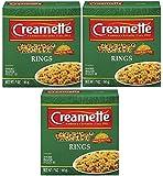 Creamette Pasta Rings Small 7 Ounce Box (Pkg. Of 3)