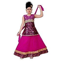SAARAH Pink Lehenga Choli Set (EMP3305)