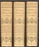 The Book of the Thousand Nights and a Night: The Complete Burton Translation with the Complete Burton Notes, the Terminal Index, and 1001 Decorations by Valenti Angelo (3-Volume Set)