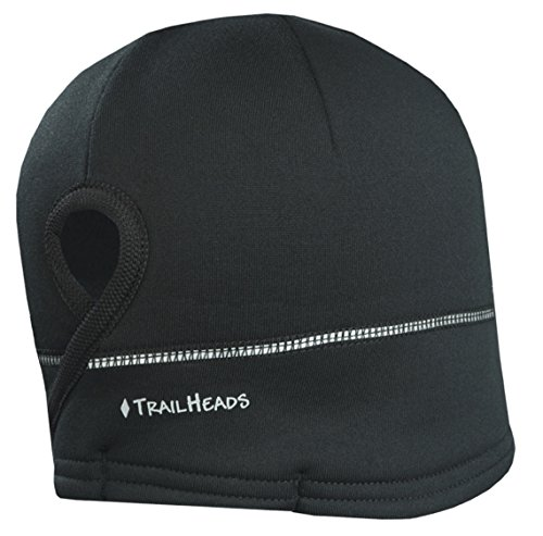 trailheads-womens-power-ponytail-hat-reflective-winter-running-beanie-black-silver