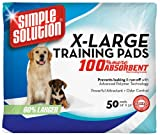 Cheap Simple Solution Training Pads, 50 Pads, Extra Large ❧