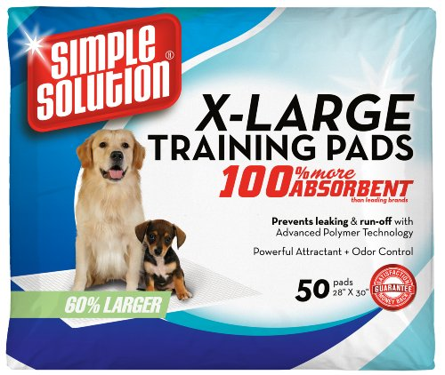 picture Simple Solution Training Pads, 50 Pads, Extra Large