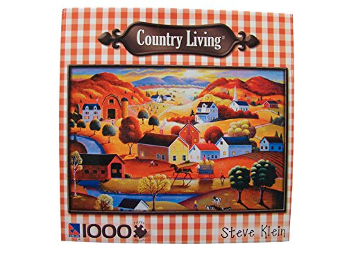 Country Living Steve Klein 1000 Piece Jigsaw Puzzle: Autumn Sunset