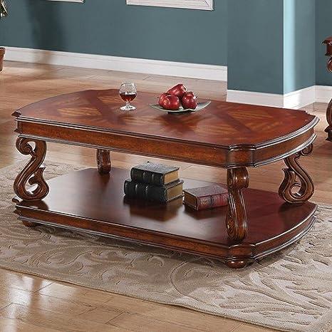 Coaster Home Furnishings Coffee Table, Pecan