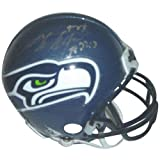 Shaun Alexander Autographed Seattle Seahawks Mini Helmet at Amazon.com