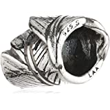 TrollBeads Damen-Bead Feder 925 Sterling Silber 11165