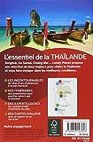 echange, troc Lonely Planet LONELY PLANET - L'Essentiel de la Thaïlande - 3ed