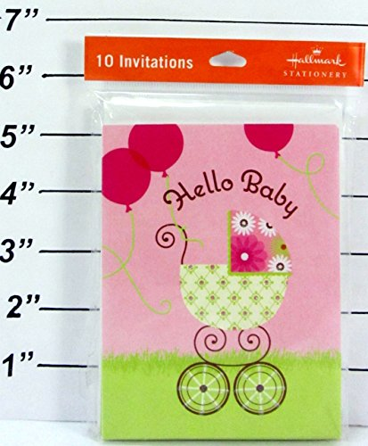 Hallmark Stationery Hello Baby Invitations - 10 Count front-1025886