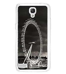 London Eye Giant Wheel 2D Hard Polycarbonate Designer Back Case Cover for Xiaomi Redmi Note :: Xiaomi Redmi Note 4G