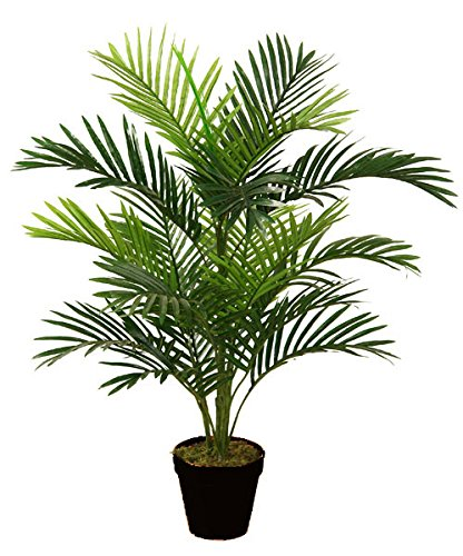 best-artificial-90cm-3ft-parlour-palm-tree-outdoor-indoor-tropical-conservatory-office-garden-plant-