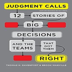 Judgment Calls Audiobook