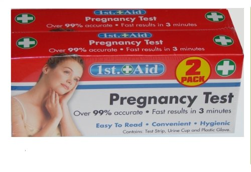 Home  Pregnancy Test -   by 1st Aid  (2 Pack)