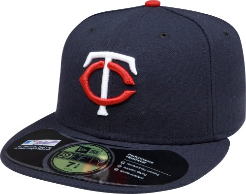 MLB Minnesota Twins Authentic On Field Game 59FIFTY Cap (7 1/4)