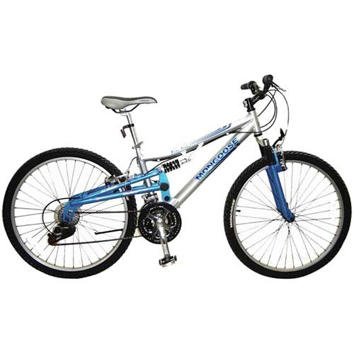 Mongoose Women's Incline Bicycle (Silver)