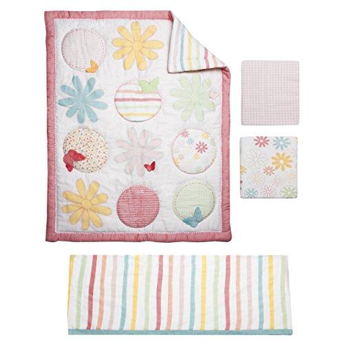 Kidsline Fanciful Floral Crib Set