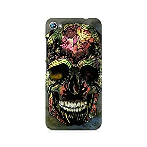 Mobicture Skull Art Premium Printed Case For Micromax Canvas Fire 4 A107