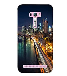 PrintDhaba Maine Drive D-2036 Back Case Cover for ASUS ZENFONE SELFIE ZD551KL ULTRA (Multi-Coloured)