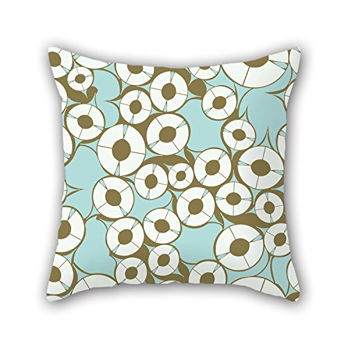 NICEPLW 16 X 16 Inches / 40 By 40 Cm Colorful Geometry Cushion Cases ,both Sides Ornament And Gift To