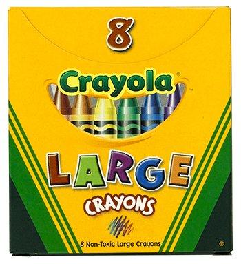 20 Pack CRAYOLA LLC FORMERLY BINNEY & SMITH CRAYOLA LARGE SIZE TUCK BOX 8-PK
