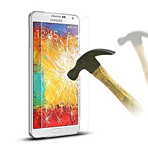 Zeus: Tampered-Glass Screen Protector for Samsung Galaxy Note5 (5.5 inch) 0.33 mm thickness with 9H hardness and crystal clear visibility
