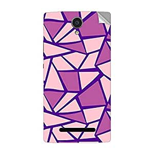 Garmor Designer Mobile Skin Sticker For OPPO R1001 - Mobile Sticker