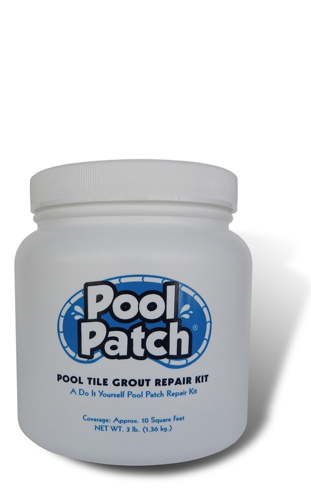 Pool Patch White Pool Tile Grout Repair Kit 3 Pound White