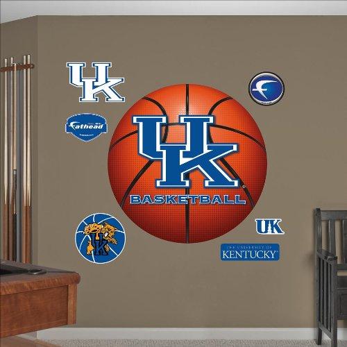 NCAA Kentucky Wildcats Basketball Logo Wall Graphic Fathead Wall Banners autotags B00697AP1M