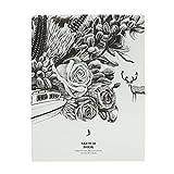 Liying Neu Skizzenblock Notizbuch Tagebuch schön Softcover DIN A4