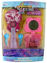 Disney Pop Star Hair Care Set - 5pcs Hannah Montana Hair Brush and accessories
