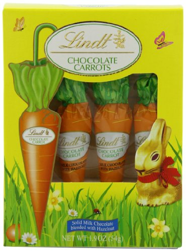Lindt Chocolate Carrots, 4-Count
