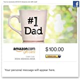 Amazon Gift Card - Facebook - #1 Dad