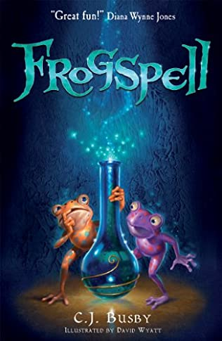 book cover of Frogspell