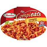 Hormel Compleats Lasagna with Meat Sauce, 10-Ounce Microwavable Bowls, 6 Count ~ Hormel