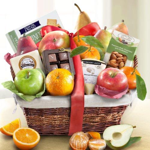 Gourmet Deluxe Fruit Basket Gift