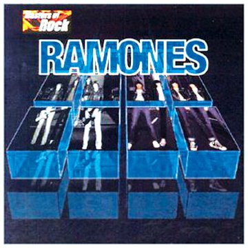 Masters of Rock: Ramones artwork