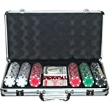 ProPoker 300 Poker Chips in Luxury Aluminum Case