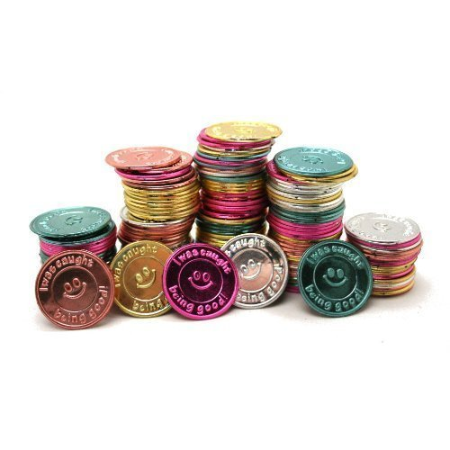Oriental-Trading-Company-I-Was-Caught-Being-Good-Plastic-Coins-Bulk-1-Pack-of-144