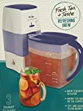 Mr. Coffee Iced Tea Maker 3 Quart with Brew Strength Selector
