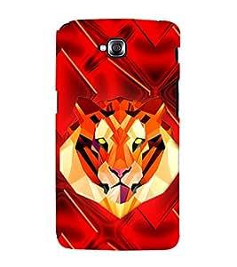 Tiger 3D Hard Polycarbonate Designer Back Case Cover for LG G Pro Lite :: LG Pro Lite D680 D682TR :: LG G Pro Lite Dual :: LG Pro Lite Dual D686