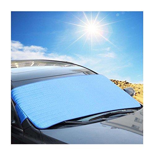 Iuhan® Fashion 1Pc Casual Foldable Car Windshield Visor Cover Front Rear Block Window Sun Shade (Sun Shade Car Windshield Venza compare prices)