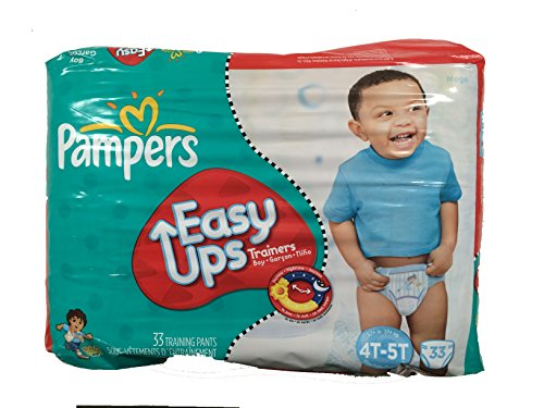 Pampers Easy Up Boys Mega Pack, 33 Count, Size 6 (4T-5T), Go Diego Go Design