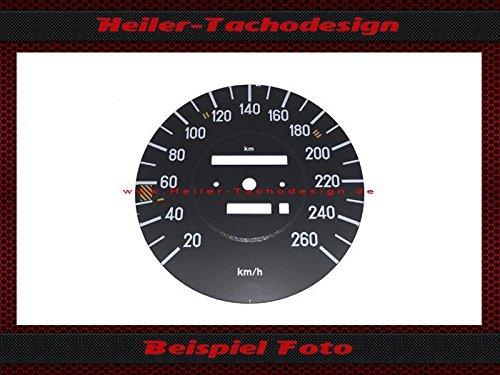 Tachoscheibe Mercedes SL R107 W107 260 kmh Elektronischer - Tacho